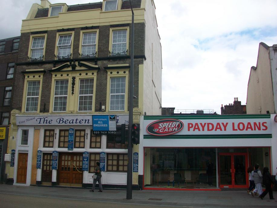 Legal loan sharks, pawn shops, pound shops, betting shops -the spreading ...