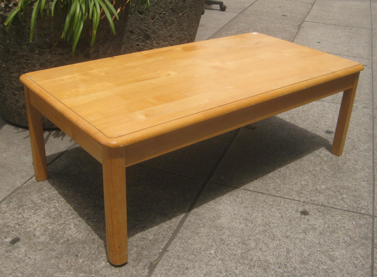 Uhuru Furniture Collectibles Sold Ash Coffee Table 35