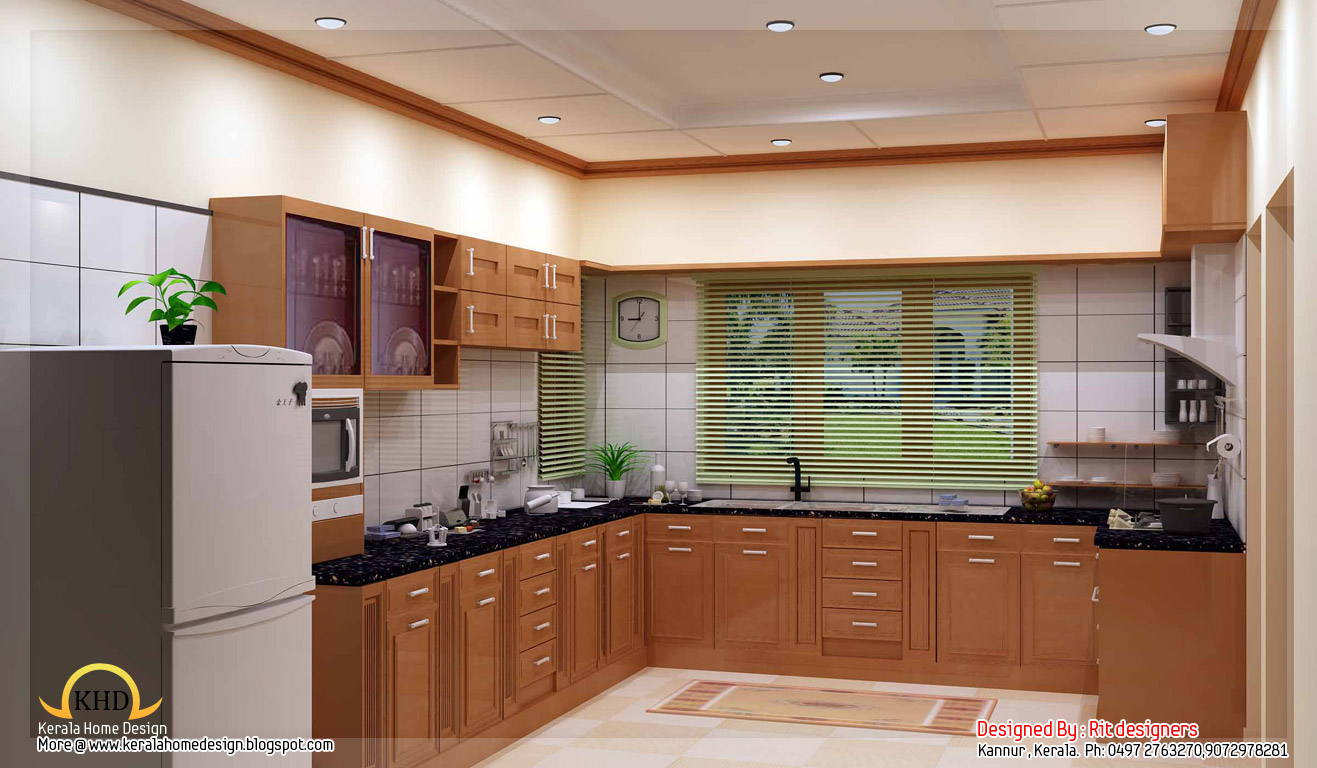 Kerala home design and floor plans beautiful 3d interior for 3d interior designs images
