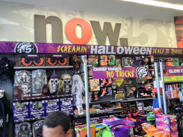 Halloween at Five Below