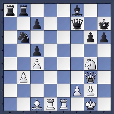Les Blancs jouent et gagnent en 3 coups - Niveau Moyen