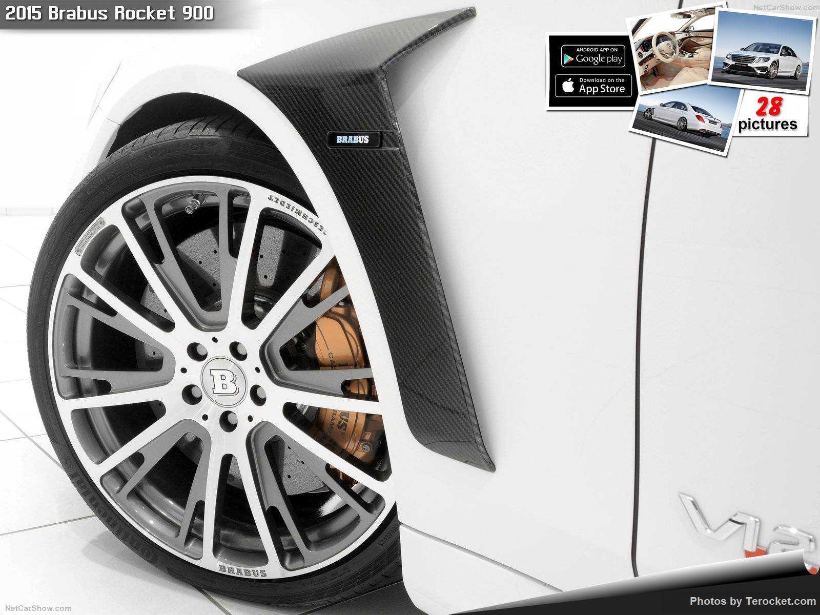 Hình ảnh xe ô tô Brabus Rocket 900 2015 & nội ngoại thất