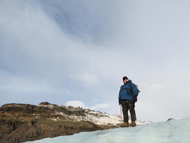 Ice picking iceland glacier walk