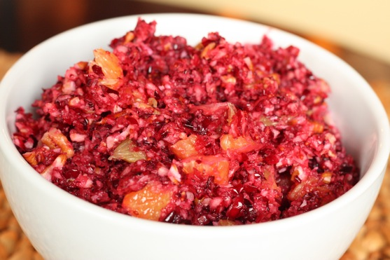 Thanksgivukkah: Latkes With Cranberry Sauce