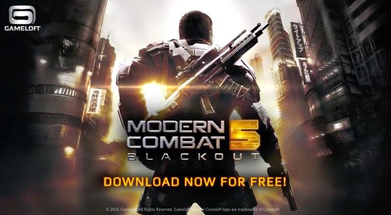 Modern Combat 5 Akan Gratis di Play Store