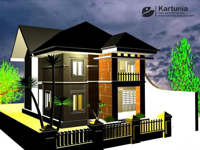 Desain Eksterior Rumah 3D