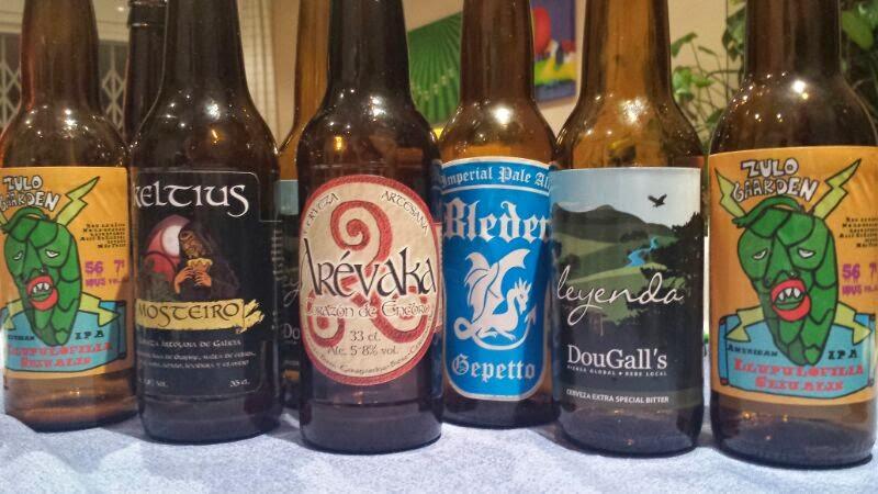 Selección de la cata de cervezas artesanas de calidad