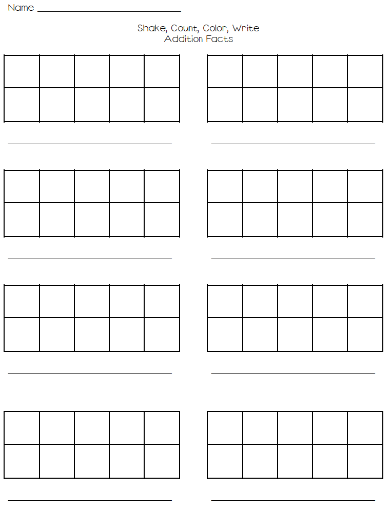 Printables Ten Frame Worksheet ten frames worksheets abitlikethis frame printable worksheet the 10s and create