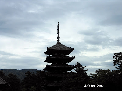 Kofukuji's five tier pagoda &#8211; A symbol of Nara in Japan