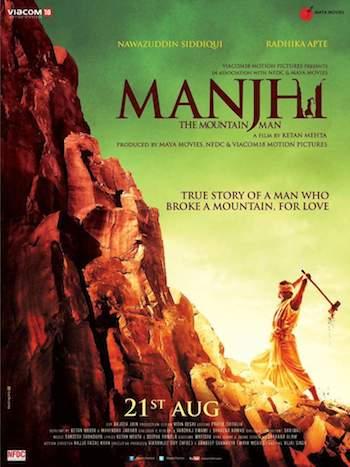 Manjhi The Mountain Man (2015) Hindi New DVDScr 720p 500MB