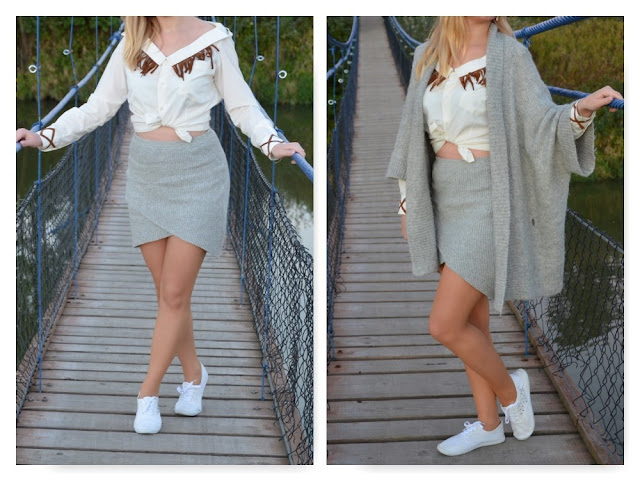 Jak przerobić męską koszulę? Jak przerobić starą spódnicę? DIY // How to alter shirt? How to alter skirt? DIY