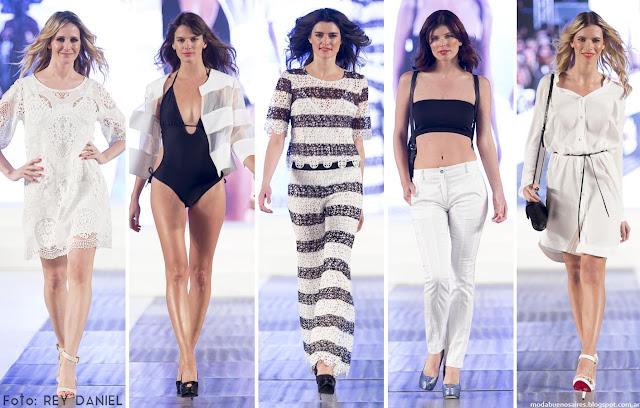Moda Argentina 2016: Calandra primavera verano 2016.