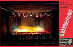 Nuestro teatro.