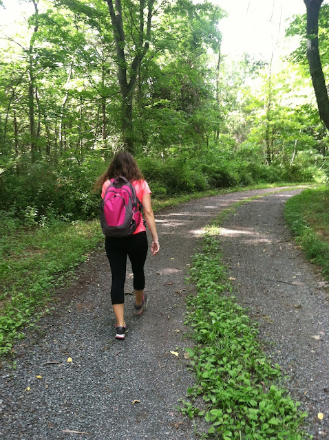 Hiking in Jersey on Darling Cashmere