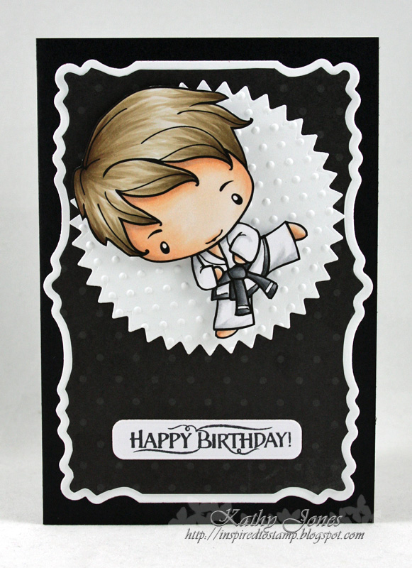 Inspired To Stamp Tae Kwon Do Birthday Boy