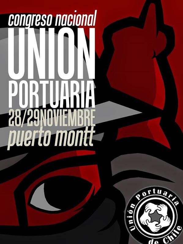 PUERTO MONTT: CONGRESO NACIONAL UNION PORTUARIA