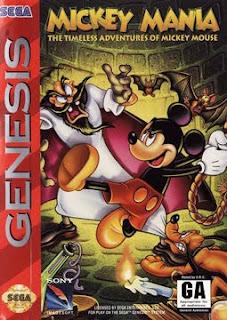 Mickey Mania Sega