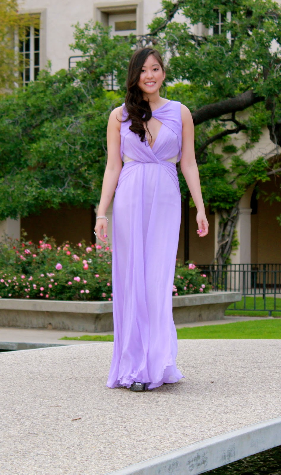 Young, Casual, Chic: Cascading Lavender