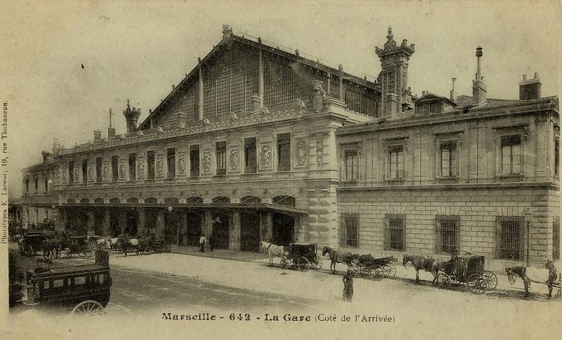 Histoire de marseille 1 - Distance gare saint charles port marseille ...