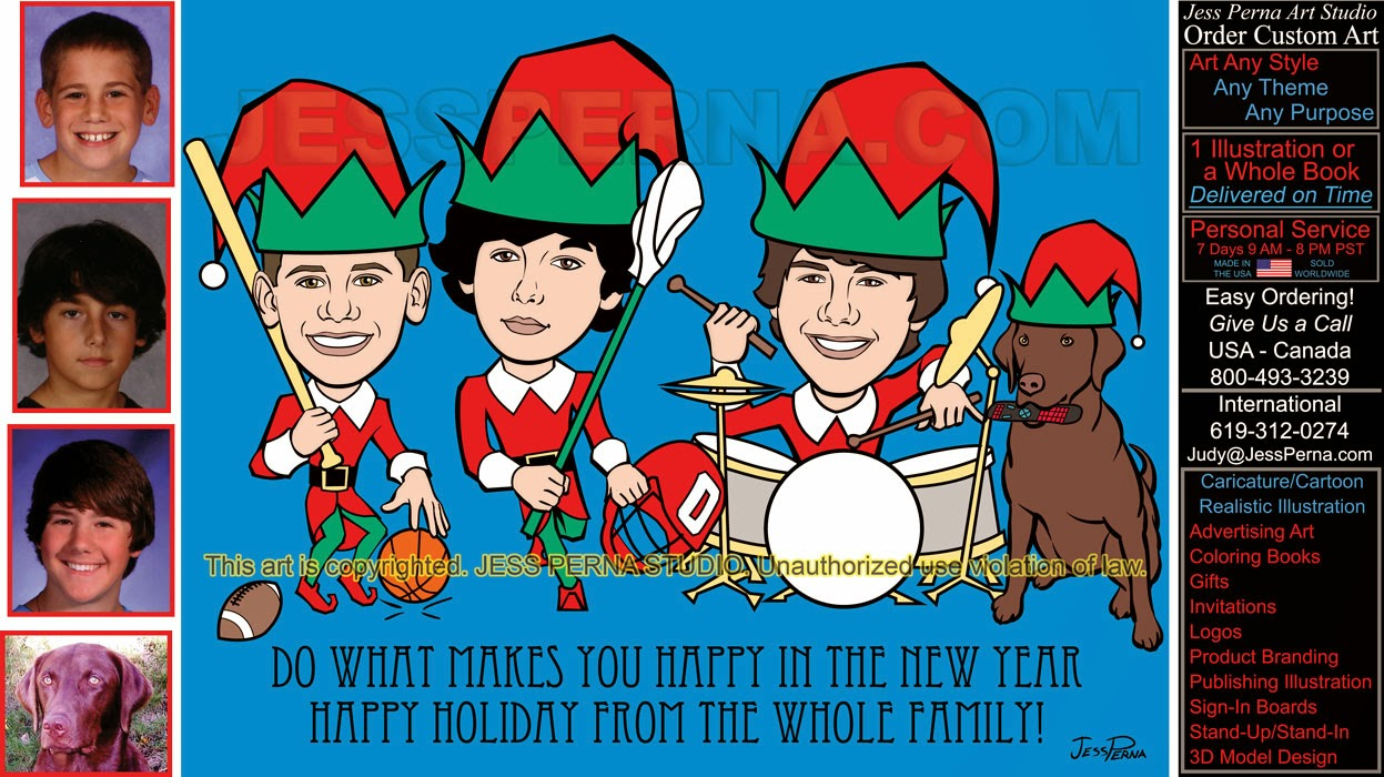 how to order a custom made christmas card family card how to