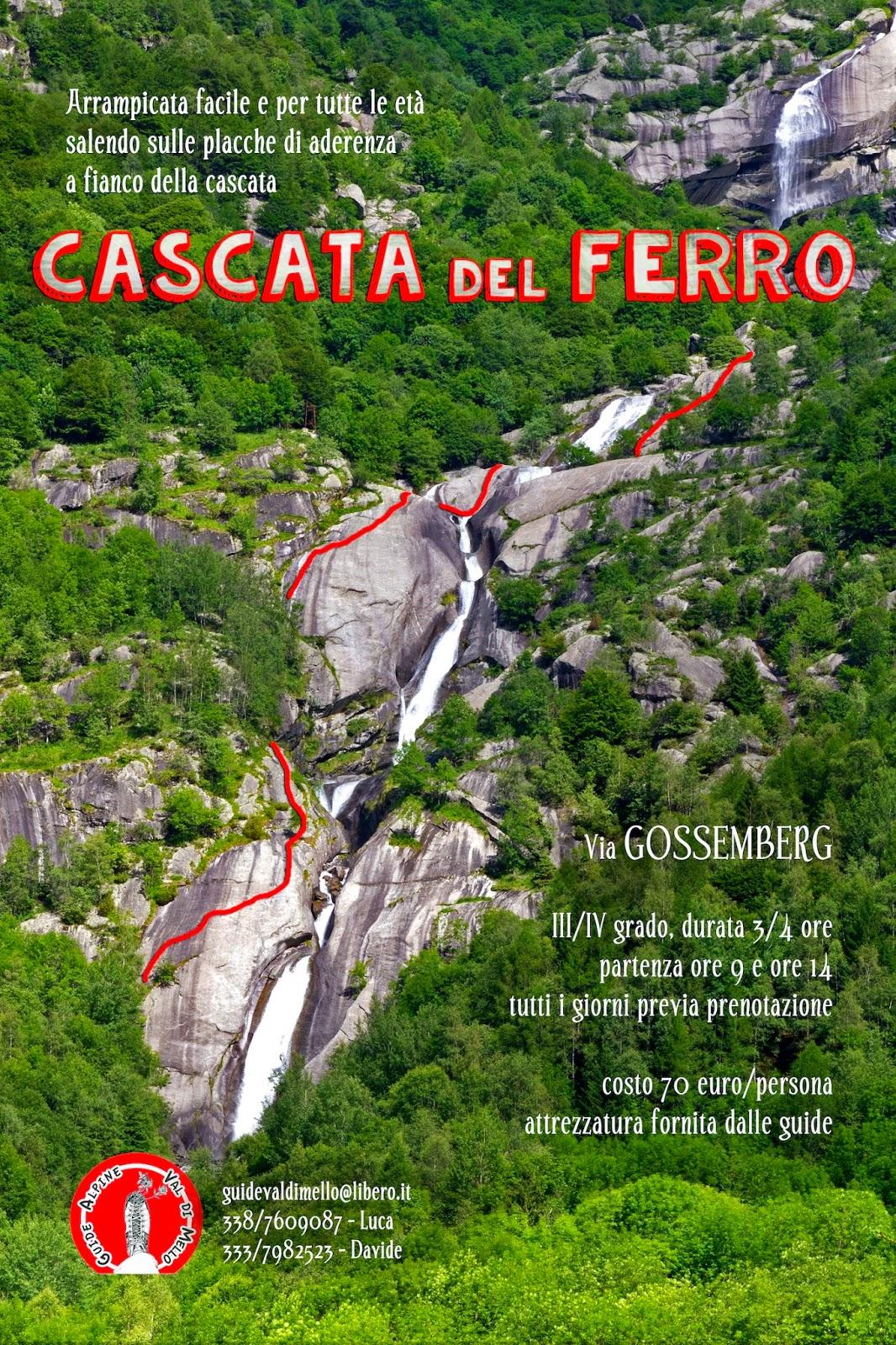 MASINO CLIMBING: GUIDE ALPINE VAL DI MELLO - via \