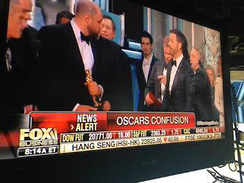 Oscar SNAFU.....Are Trump & The Russians to Blame ?
