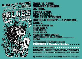 Blues Fest Nantes, Rezé Saint Marc sur mer blues - rock avec Red Cardell, The Cash Stevens ...