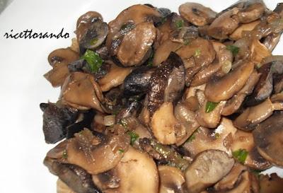 Funghi trifolati ricetta di base