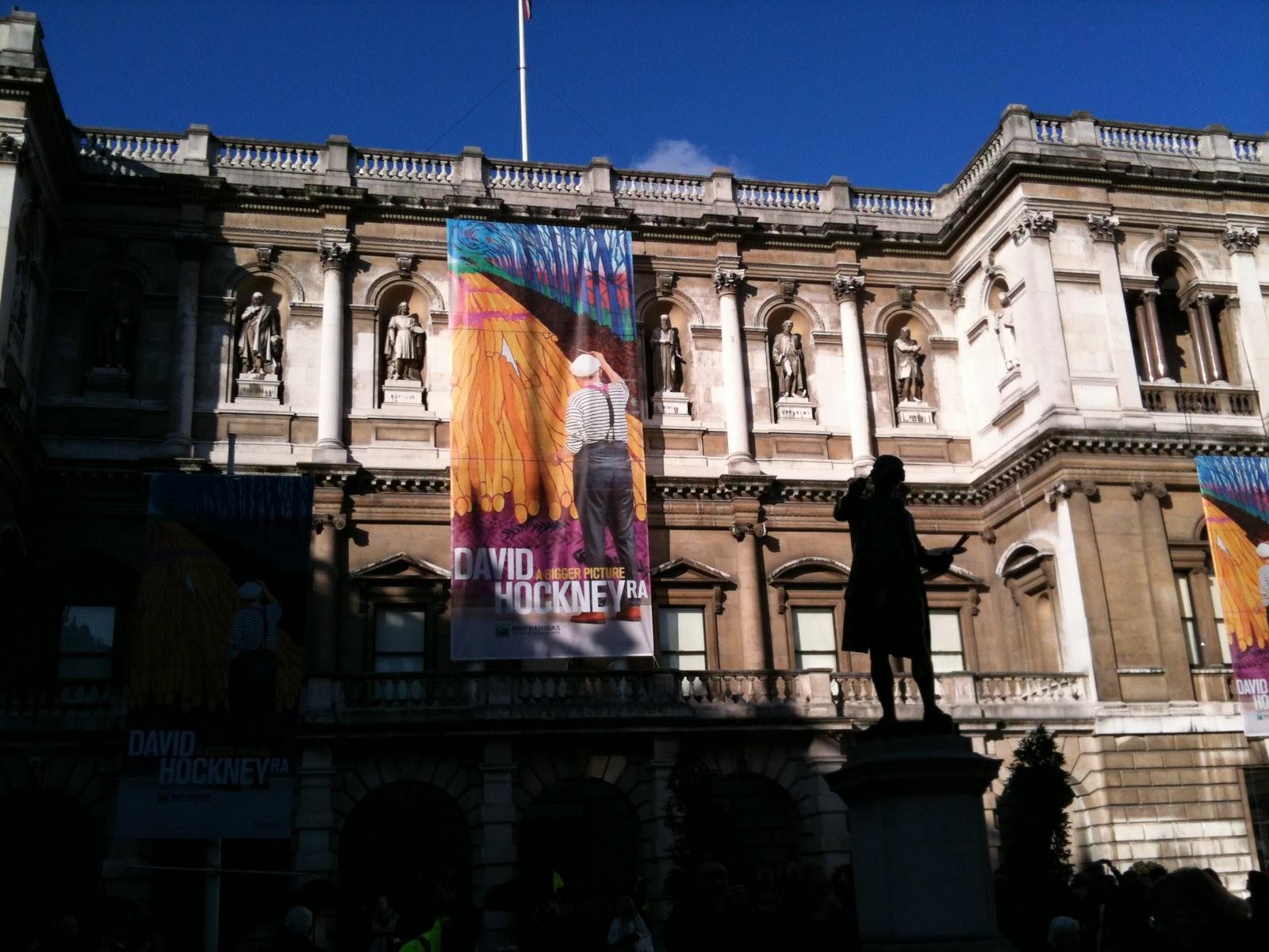 The glorious David Hockney exhibition
