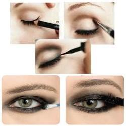Make: Olhos Esfumados