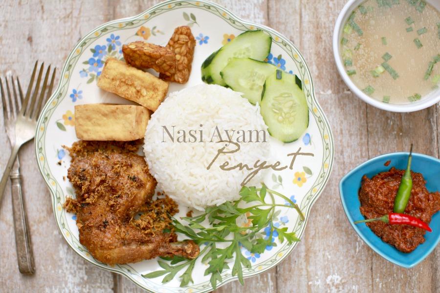 Nasi Ayam Penyet Paling Sedap Masam Manis