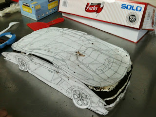 Sweet Cakes by Rebecca - sculpted car cake