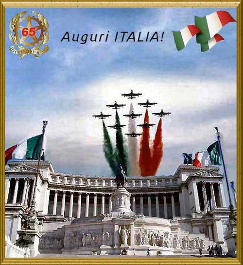 Amici in allegria festa della repubblica italiana for Senatori della repubblica italiana nomi