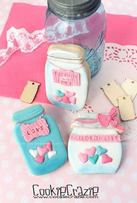 http://www.cookiecrazie.com/2016/02/pink-aqua-texture-mat-heart-cookies.html