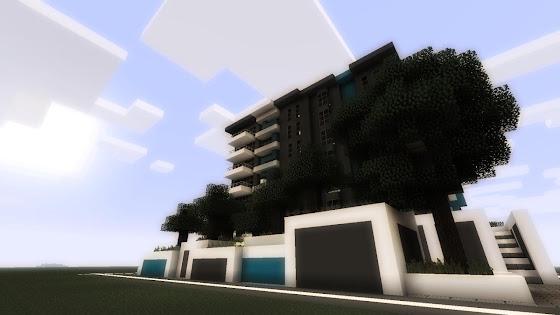 appartement Minecraft