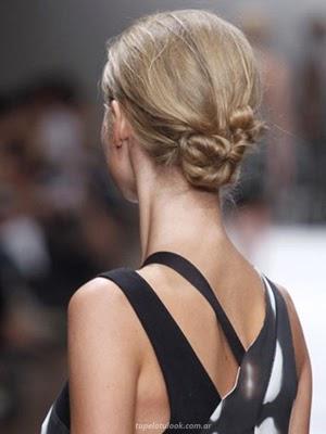 peinados 2014 rodetes