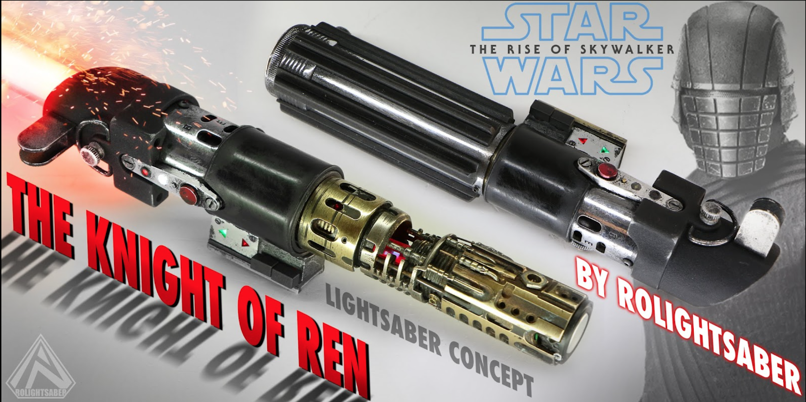 The Knight of Ren Lightsaber
