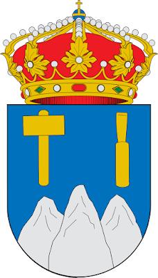 1x STICKER escudo de Asturias Espagne blason autocollant