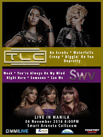 TLC and SWV Live in Manila
