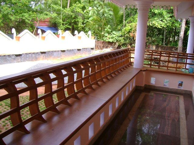 Bavas wood works wooden charupadi functional aesthetic for Balcony ki design