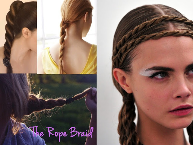 different braids, types of braids, braid, braid bible, how to braid, hair inspiration, hair, hair styles, pretty, hair do, lesimplyclassy, lesimplyclassy blog, le simply classy, le simply classy blog, samira hoque, styling, rope braid, the rope braid, how to do a rope braid, how to rope braid, cara delevingne rope braid, pretty rope braid, multiple rope braids, rope braids, rope braided, easy rope braid
