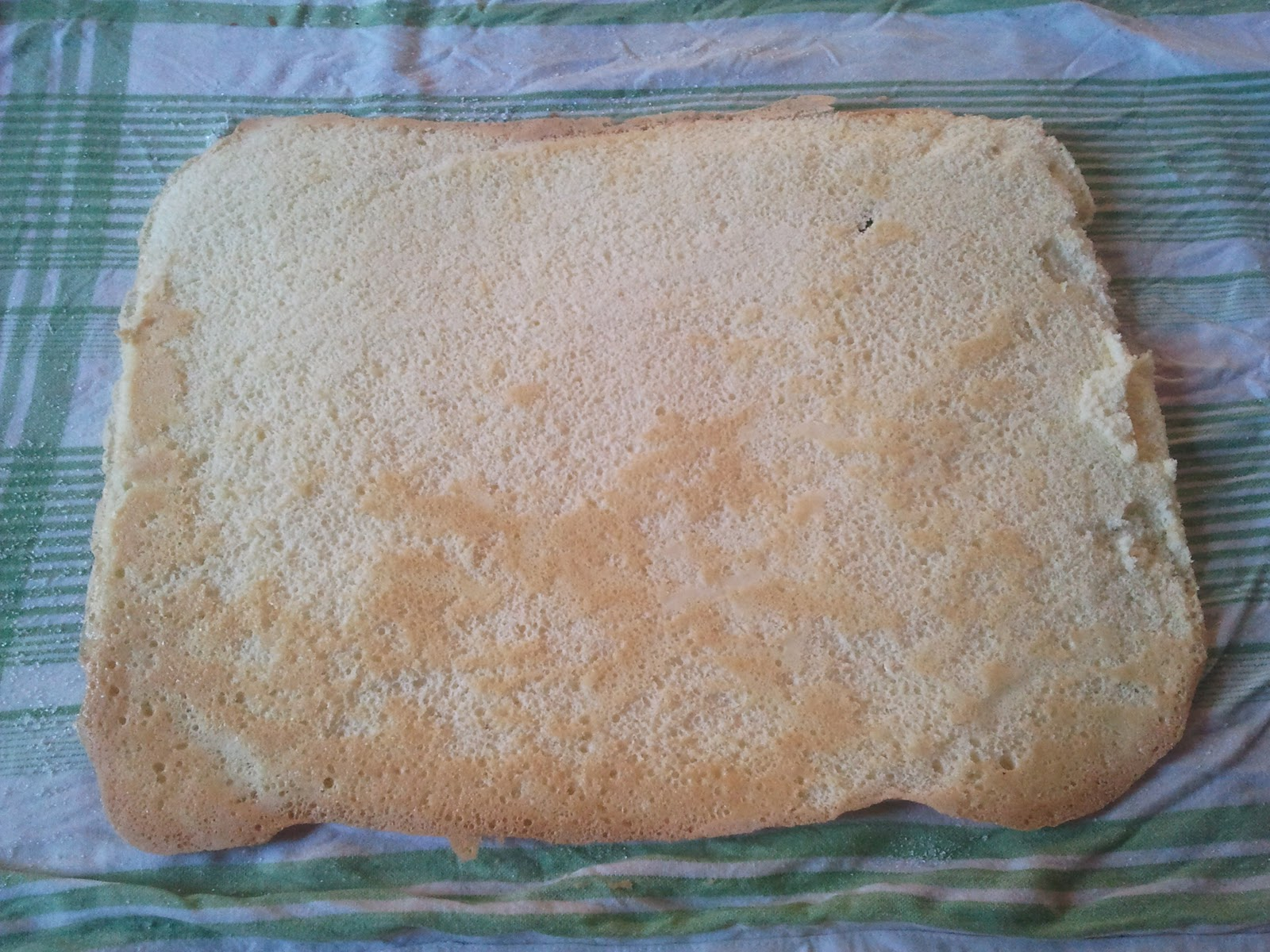 Biscuit de savoie pour buche