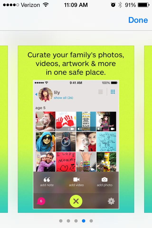 Keepy the new family album app