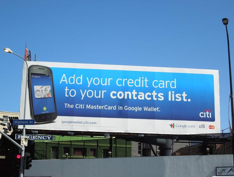 Citi contacts list billboard
