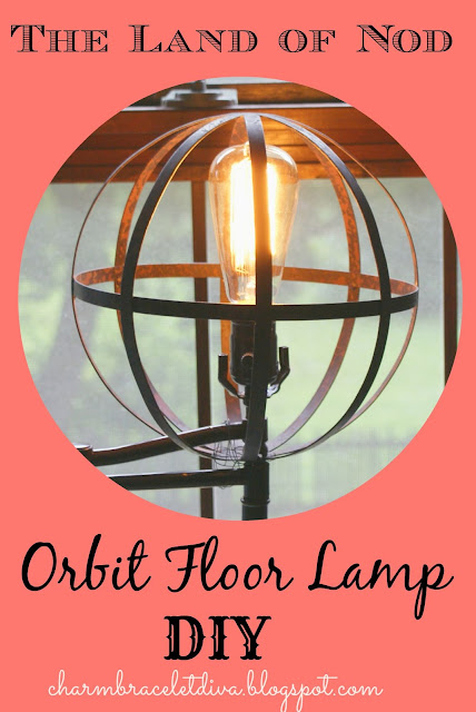 DIY Orbital Floor Lamp Land of Nod