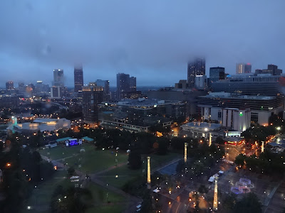 Omni Atlanta CNN Center View