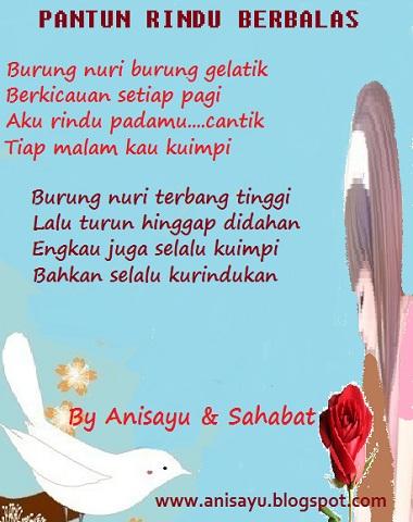 Pantun Cinta on Puisi Cinta By Anisayu Sms Pantun Puisi Rindu Romantis