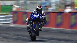 Hasil Balap MotoGP Misano 2012 Lorenzo Juara, Rosi Naik Podium