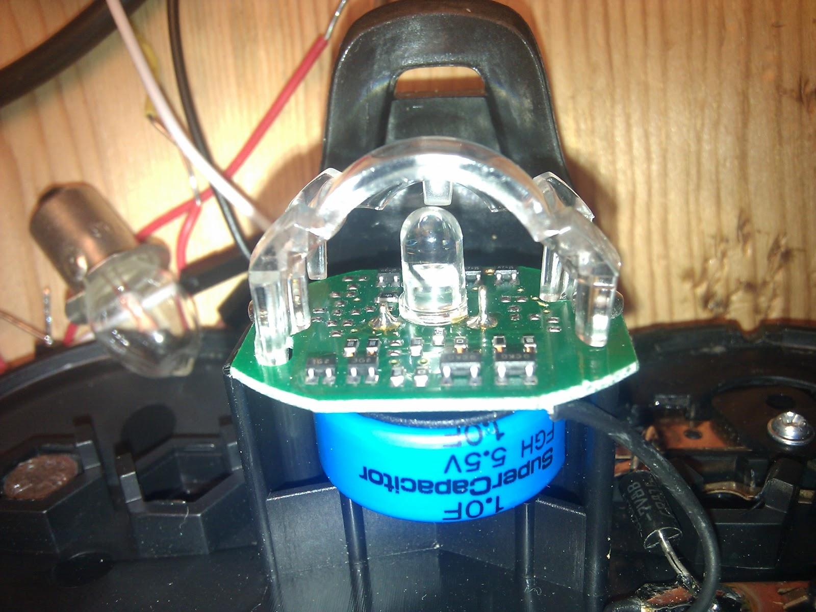Bicycle Lighting Charging Supercapacitors Ltc4425 Linear Supercap Charger Electronc Circuit Diagram Bm Taillight Guts