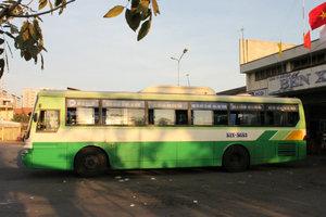 Bus on the route Sài Gòn - Biên Hòa